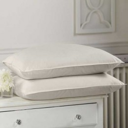 Alpaca Comfort Organic Ecru Cotton British Alpaca Wool Firm Fill Pillows