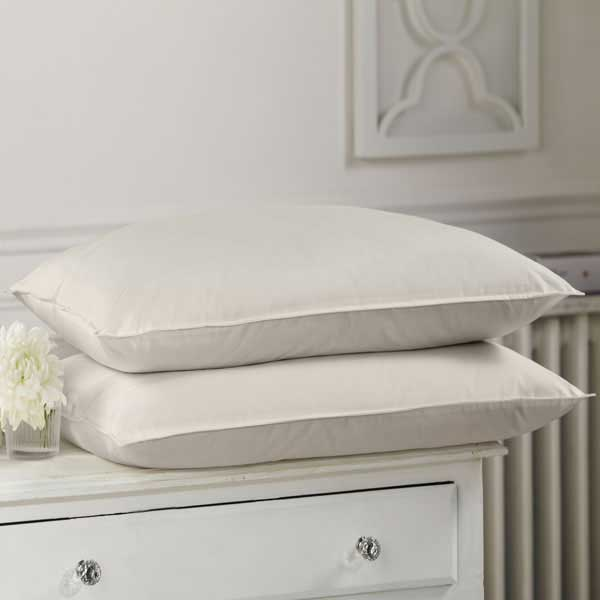 Alpaca Comfort Organic Ecru Cotton British Alpaca Wool Soft Fill Pillows