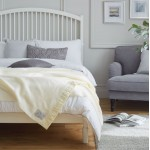 John Atkinson North Star Woollen White Blankets