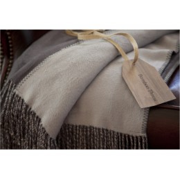 Belledorm Luxury Grey Tonal Grey Bamboo Throws