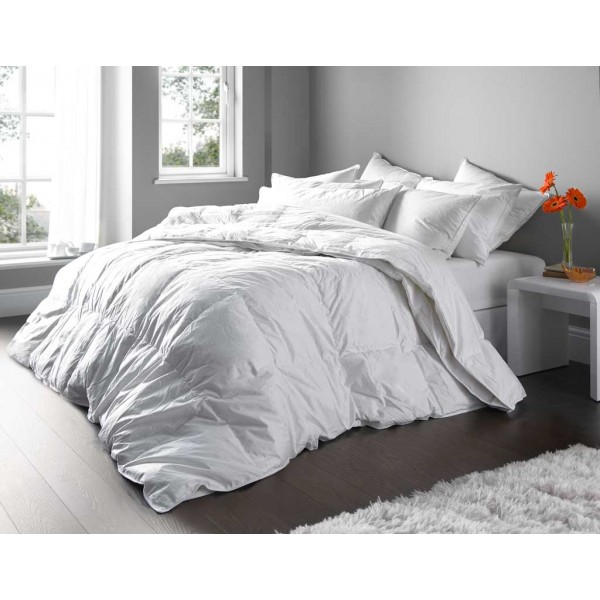 Euroquilt All Seasons 4.5 plus 9.0 Tog Pure European Duck Down Duvets