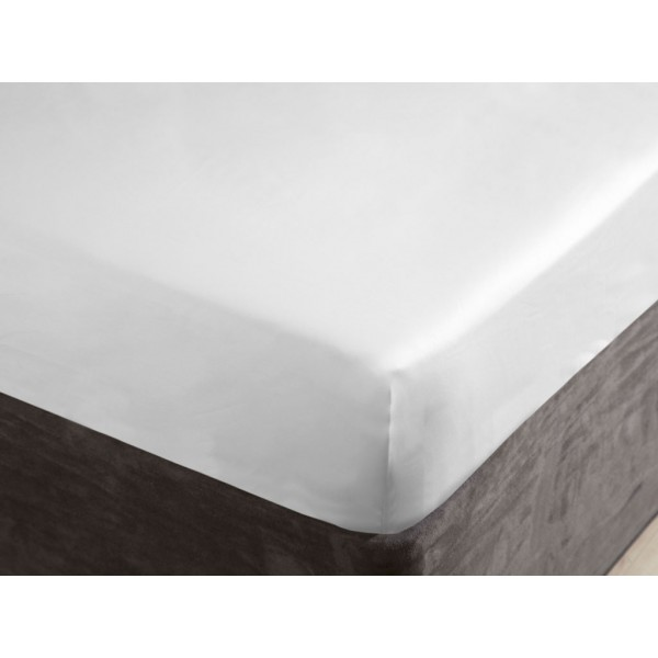 Belledorm 1000 Thread Count White Fitted Sheets Covers