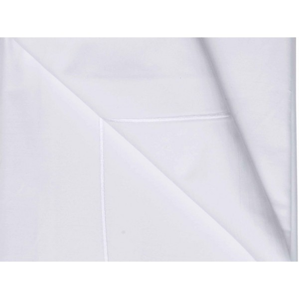 Belledorm 1000 Thread Count White Flat Sheets Covers