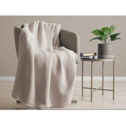 Belledorm 100% Cotton Waffle Natural Blanket