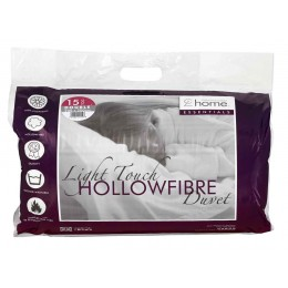 Catherine Lansfield - Light Touch Hollowfibre 15.0 Tog Duvets