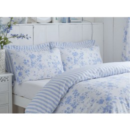 Charlotte Thomas Amelie Blue Duvet Cover Sets & Curtains