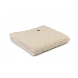Design Port Harris Cream Cotton Stonewash Throws