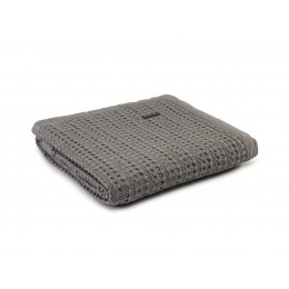 Design Port Harris Grey Cotton Stonewash Throws