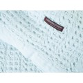 Design Port Harris Pale Blue Cotton Stonewash Throws