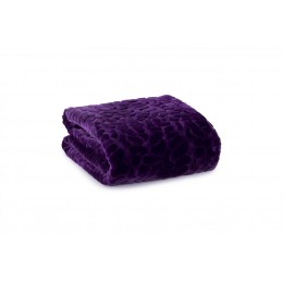 Deyongs - Textural Babylon Purple Throw