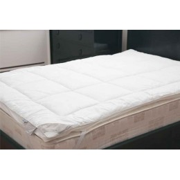 Silk or Woollen Mattress Toppers