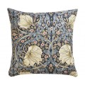 William Morris Square Filled Cushions Pimpernel Blue