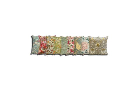 William Morris Filled Square Cushions