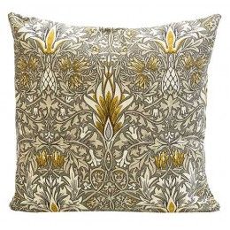 William Morris Square Filled Cushions Snakeshead