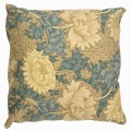 William Morris Square Filled Cushions Chrysanthemum