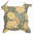 William Morris Oxford Seat Pads Chrysanthemum