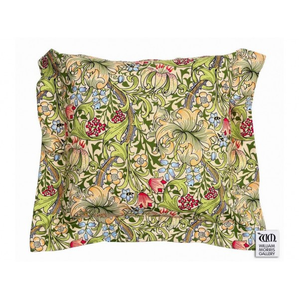 William Morris Gallery Golden Lily Square Oxford Seat Pads