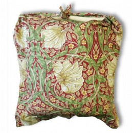 William Morris Oxford Seat Pads Pimpernel Red