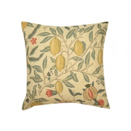 William Morris Square Filled Cushions Fruits Major