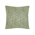 William Morris Square Filled Cushions Willow Bough Green