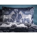Emma J Shipley Navy/White Lost World Housewife Pillowcase Pairs