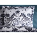 Emma J Shipley White Lost World Square Pillowcase