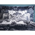 Emma J Shipley White Lost World Boudoir Pillowcase