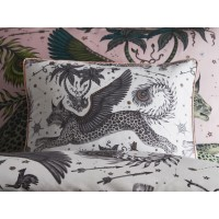 Emma J Shipley White Lynx Boudoir Pillowcase