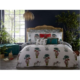 Emma J Shipley White Jungle Palms Duvet Covers and Accessories