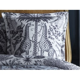 Emma J Shipley Kruger Oxford Square White Pillowcase