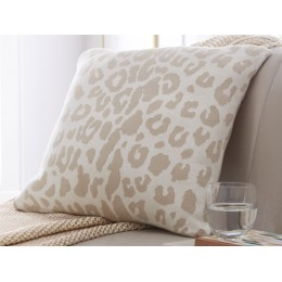 Tess Daly Leopard Print Designer Cushion