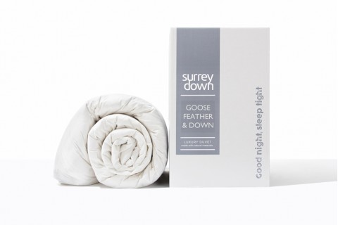 Surrey Down Home Goose Feather And Down Duvets