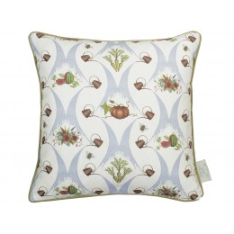 The Chateau by Angel Strawbridge A Watering Can Harvest Cream Cushion