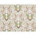 The Chateau by Angel Strawbridge A Woodland Trail Cream Fabric by The Metre
