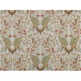 The Chateau by Angel Strawbridge A Woodland Trail Linen Cushion