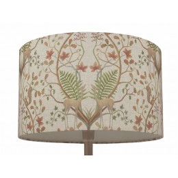 The Chateau by Angel Strawbridge A Woodland Trail Linen Lampshade