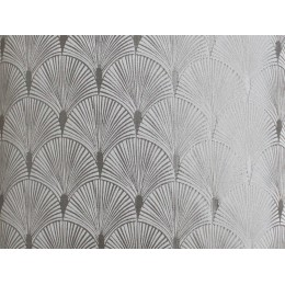 The Chateau by Angel Strawbridge Blakely Silver Fabric Per Metre