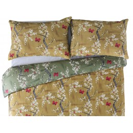 The Chateau by Angel Strawbridge Blossom Basil/Ochre Duvet Cover Sets
