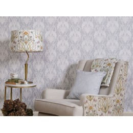 The Chateau by Angel Strawbridge Deco Heron Grey 10 Metre Wallpaper