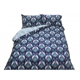 The Chateau by Angel Strawbridge Heron On The Moat Navy Duvet Cover Sets
