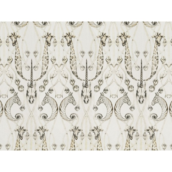 The Chateau by Angel Strawbridge Le Chateau Des Animaux Fabric Per Metre
