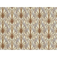 The Chateau by Angel Strawbridge Nouveau Heron Cream Fabric Per Metre