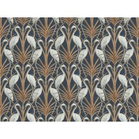 The Chateau by Angel Strawbridge Nouveau Heron Navy Fabric Per Metre