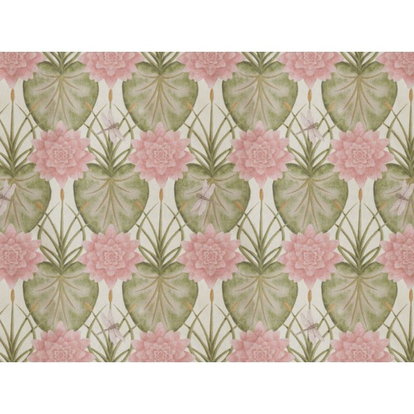 The Chateau by Angel Strawbridge The Lily Garden Cream Fabric Per Metre