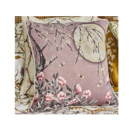 The Chateau by Angel Strawbridge Moonlight Rose Dawn Cushion