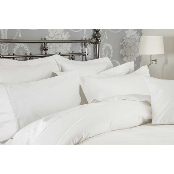 1200 Thread Count White Fitted Sheets