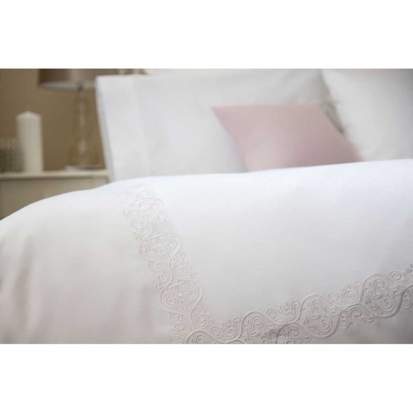 Felicity White Duvet Cover Sets