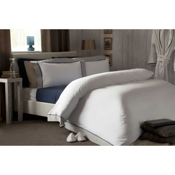 Chelsea White with Oyster Duvet Cover Sets