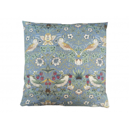 Gallery William Morris Strawberry Theif Blue Minor Square Filled Cushions