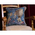 William Morris New Tapestry Filled Tapestry The Lion Cushions
